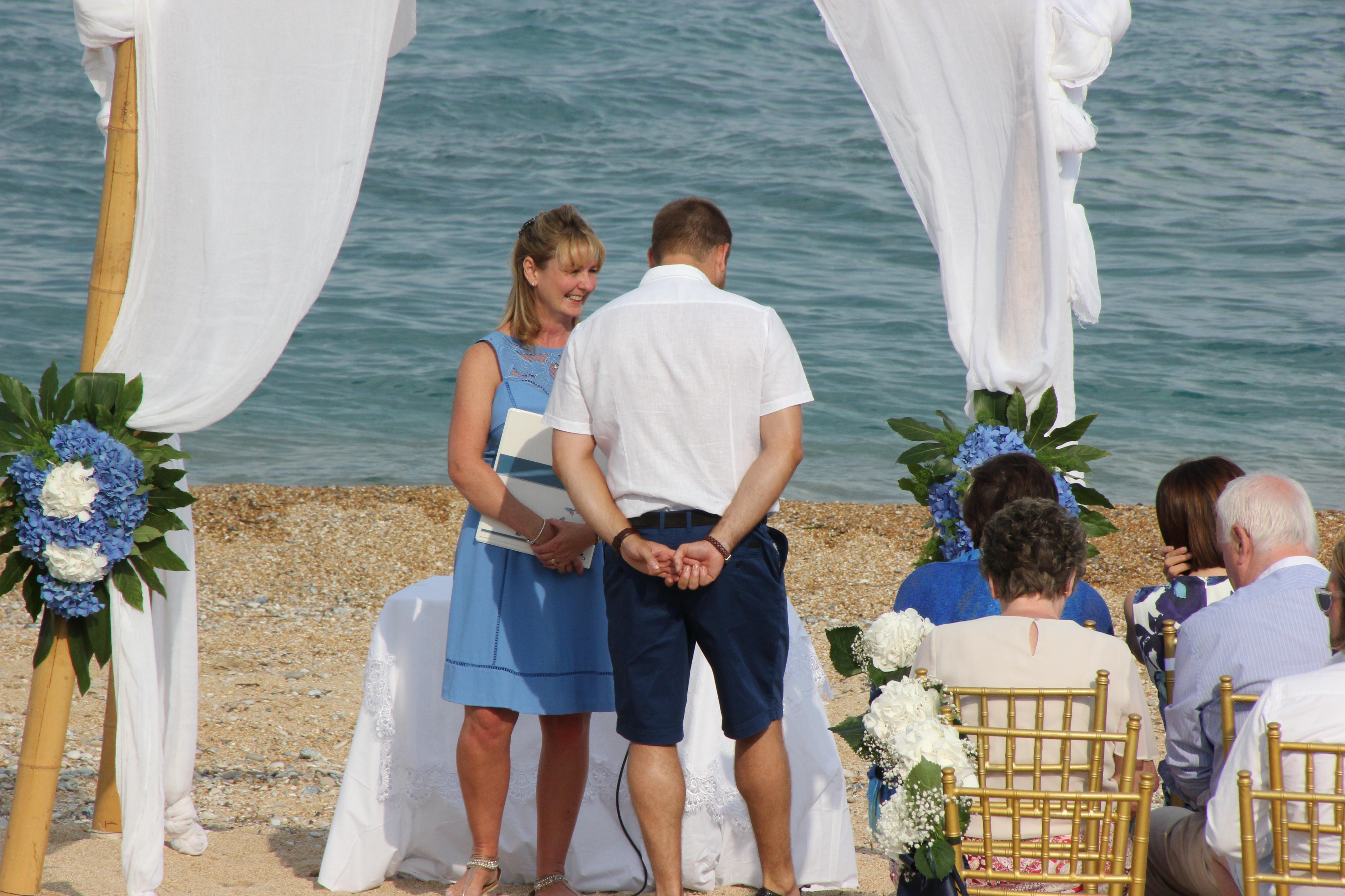 Beach Wedding, Sand Ceremony, Walnuts And Honey…