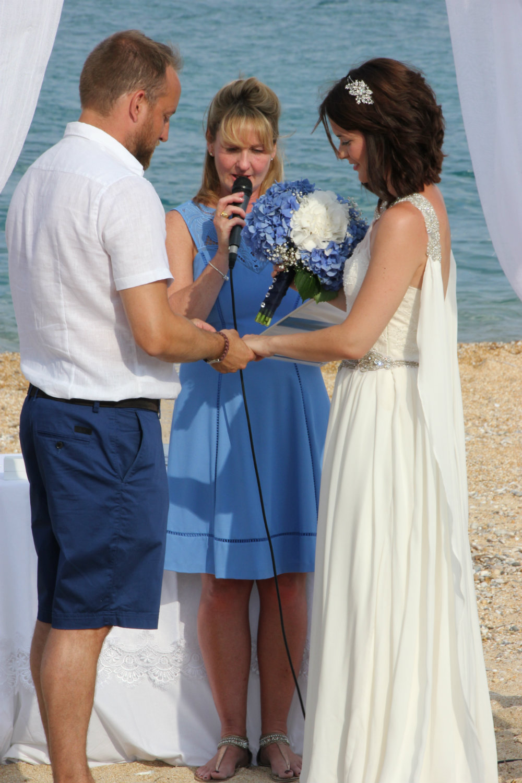 Beach Wedding Ceremony Clothes