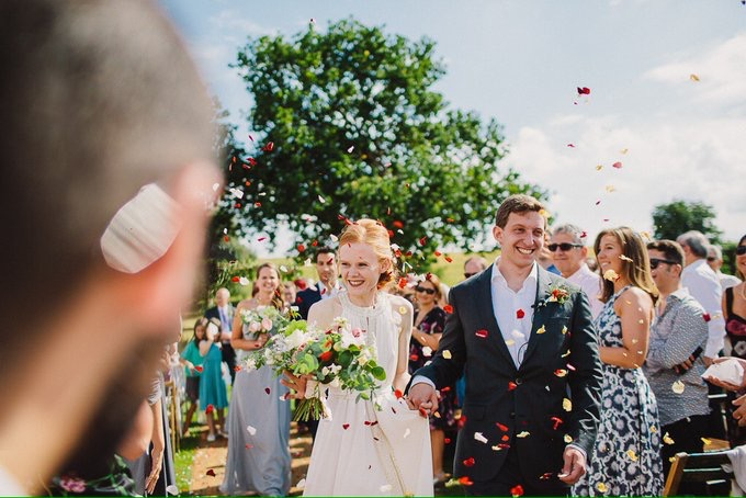 C&J Alcott Celebrant Wedding Confetti