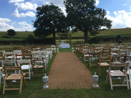Alcott Wedding Celebrant Chairs