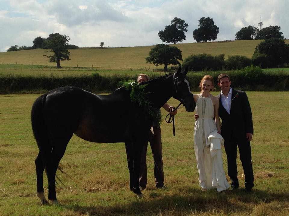 C&J Alcott Wedding Celebrant Horse