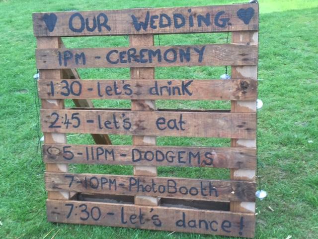 C&Jm Alcott Celebrant Wedding Order