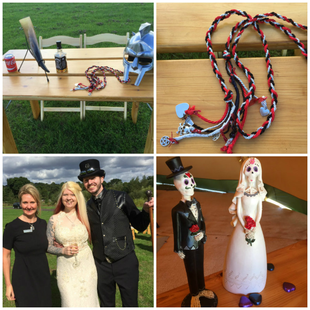 D&A Alcott Wedding Celebrant Collage