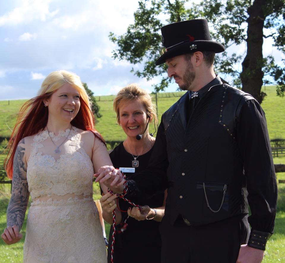D&A Alcott Wedding Celebrant Handfasting
