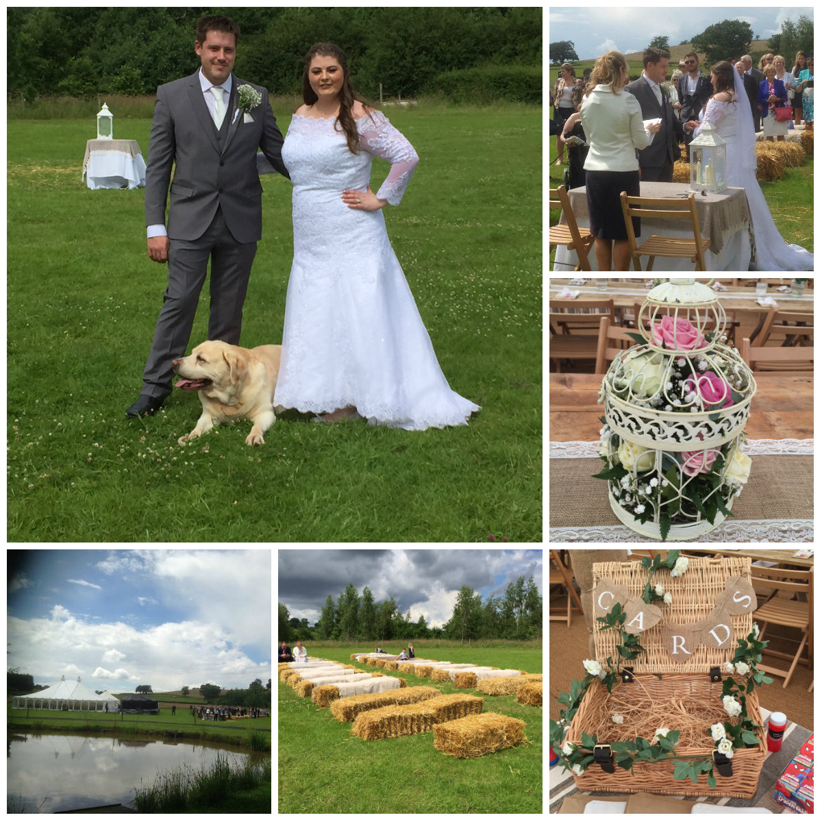 G&L Alcott Celebrant Wedding Collage