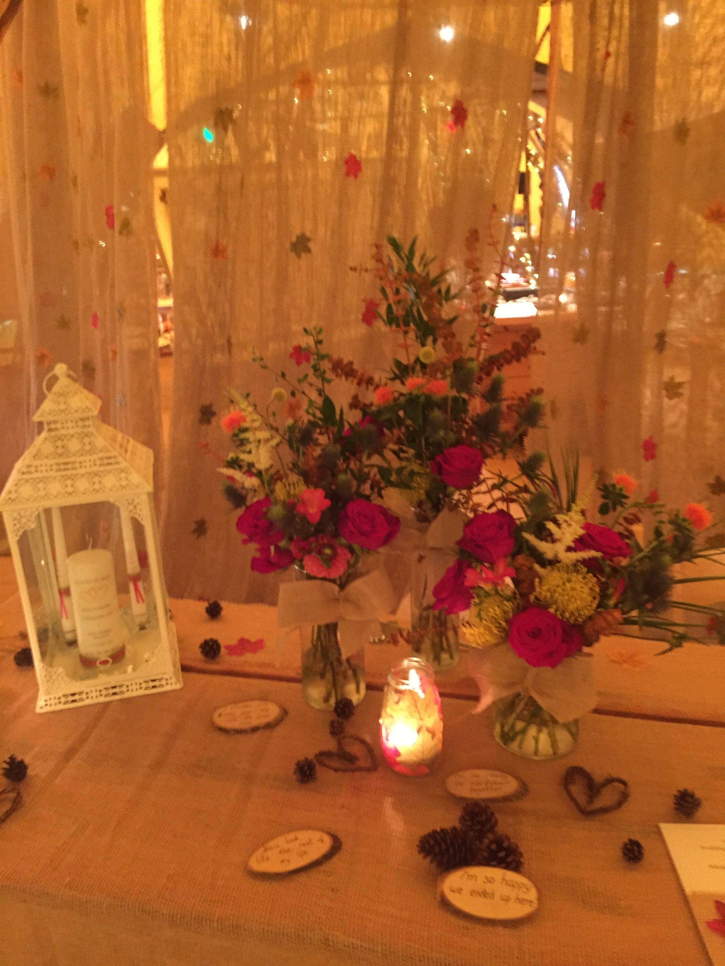 K&J Alcott Celebrant Signing Table
