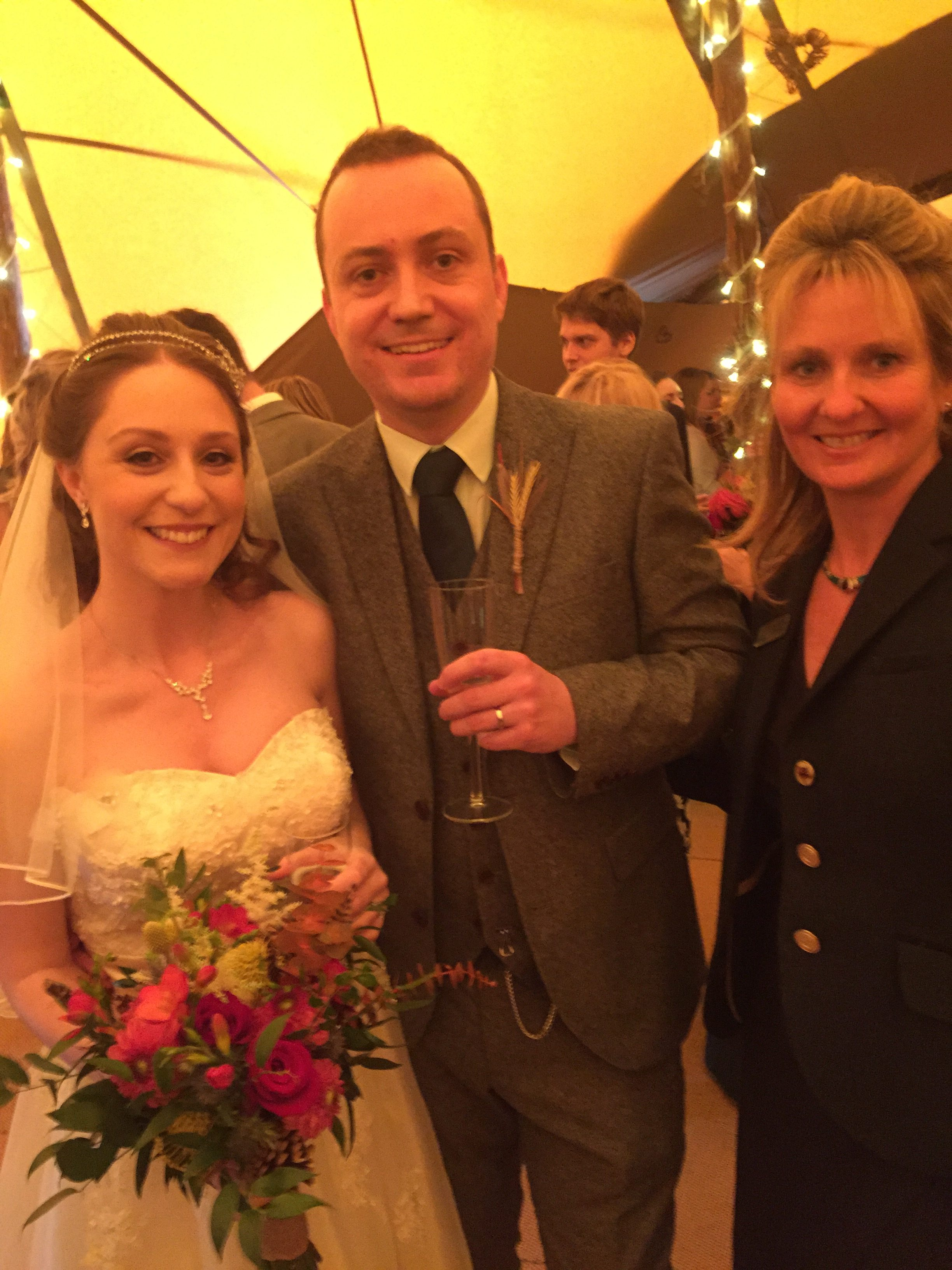 K&J Alcott Celebrant Wedding