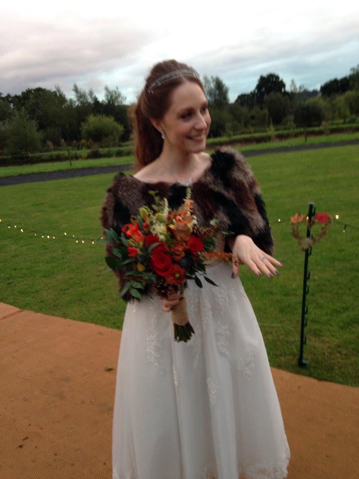 K&J Alcott Celebrant Bride