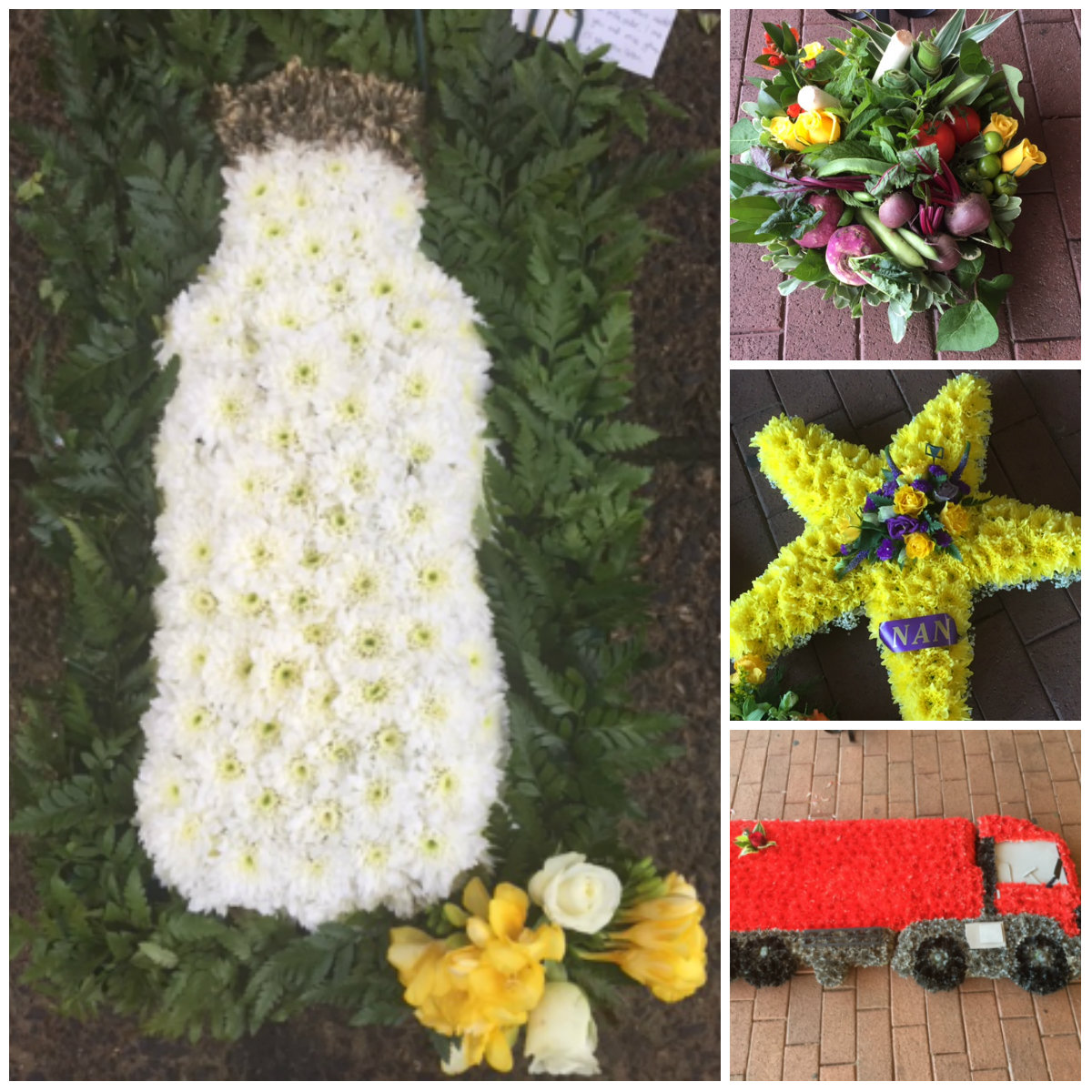 What does it feel like to do 300 funerals just celebrations funeral flower tributes izmirmasajfo Images