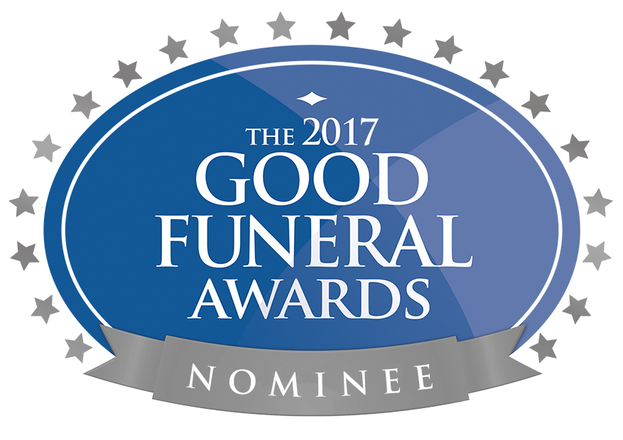 I've been nominated for a Good Funeral Award!