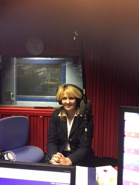 Justine Wykerd (Celebrant) on RadioPlusCoventry with Mark Sephton on his 'Talk Business' show