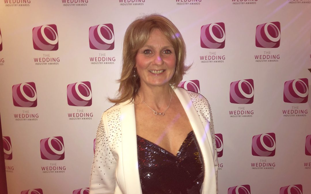 Justine Wykerd Just Celebrations West Midlands Regional Celebrant of the Year 2019 Wedding Industry Awards TWIA Warwickshire Worcestershire