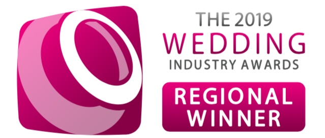 TWIA West Midlands Regional Winner Celebrant of the Year 2019 logo.  Justine Wykerd Warwickshire Worcestershire Wedding Celebrant