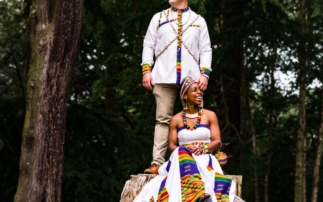 An African Wedding at Hampton Manor