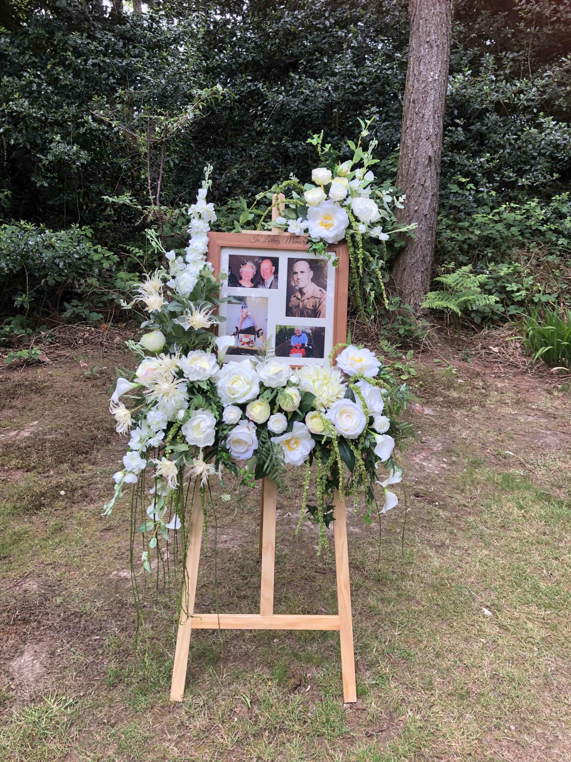 Funeral Woodland Celebration of Life Just Celebrations Justine Wykerd