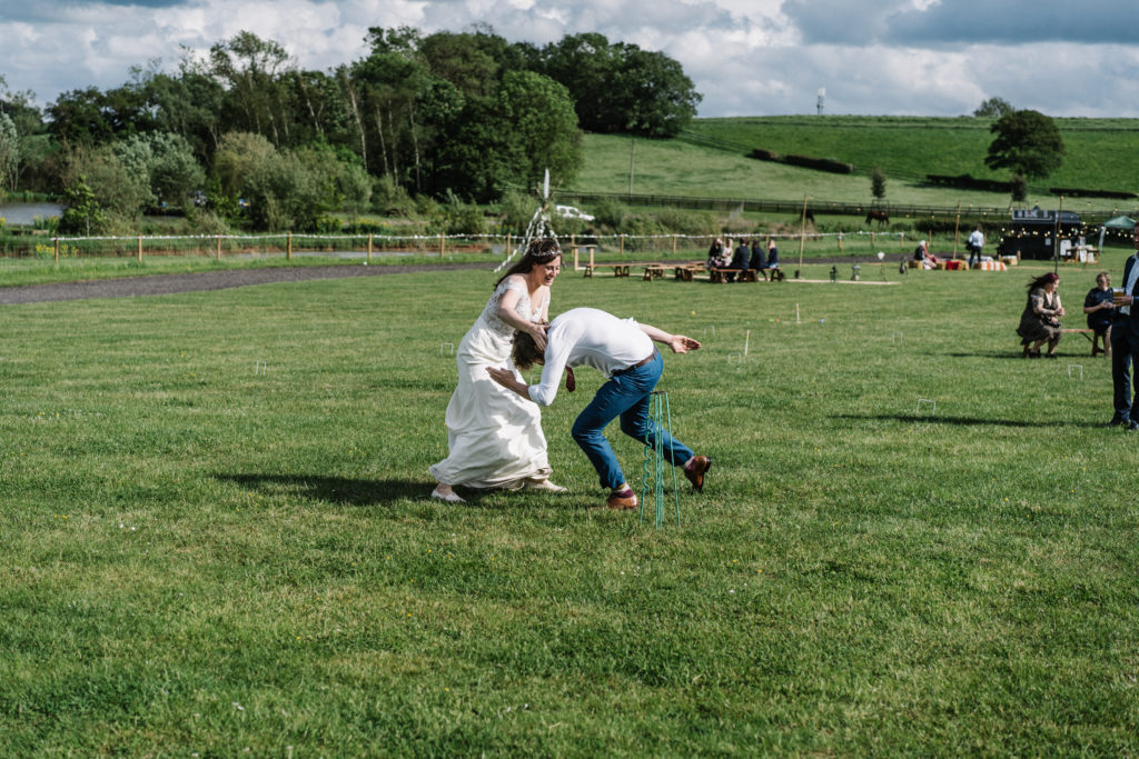 tipi relaxed outdoor celebrant wedding Justine Wykerd Alcott Just Celebrations rounders
