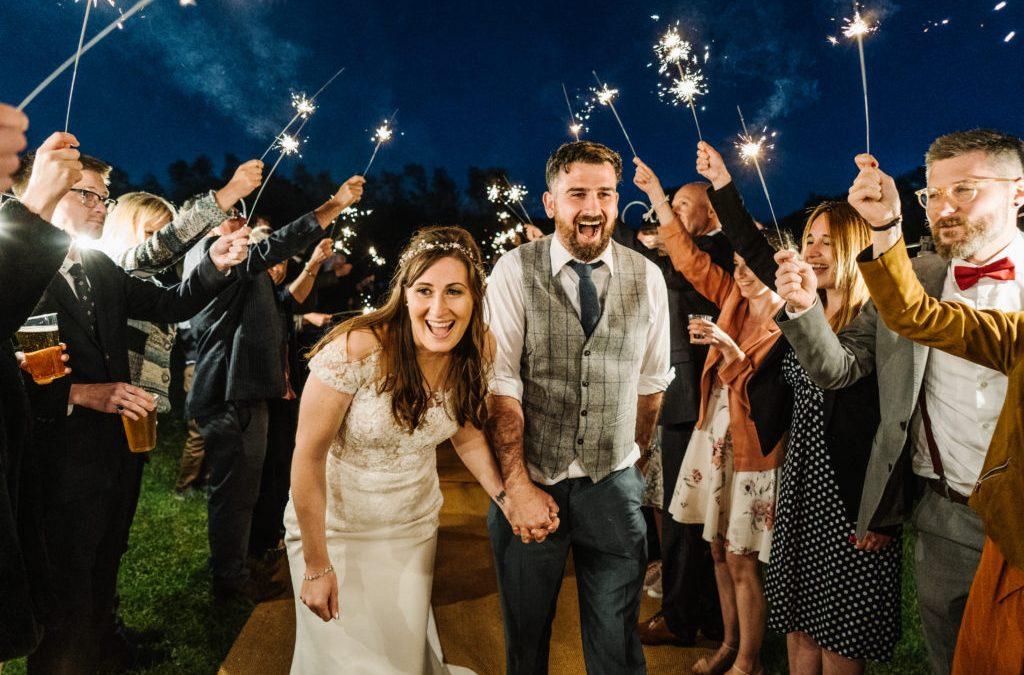 Sarah & Chris's D.I.Y. Tipi Wedding at Alcott Farm